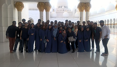 Cultural Visit to UAE's capital