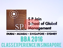 BBA 2016: Class Experience in Singapore