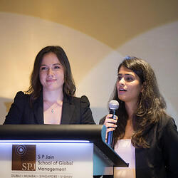 GMBA students present projects at Corporate Partner Meet 2020