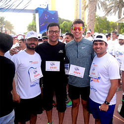 How running helped Abhay Teotia (MGB'19) conquer MBA