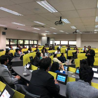 Mr Nitish Jain, President of SP Jain School of Global Management, at the Annual Educators' Summit 2018 in Singapore