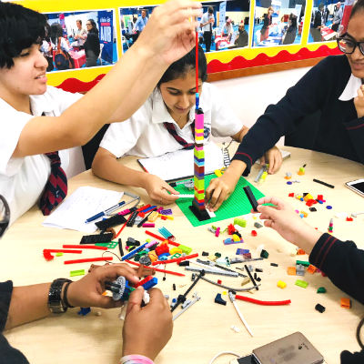 GEMS Winchester School students participate in the Design Thinking Workshop