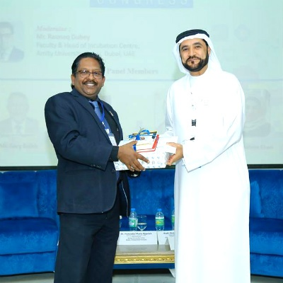 Prof. Christopher Abraham, Professor and Head of Campus (Dubai), SP Jain School of Global Management and Dr. Rashid Alleem - Founder & Executive Chairman, Alleem Investment