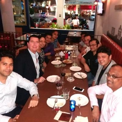 SP Jain Entrepreneurship Club hosts its first meeting in Singapore with Mr Paul Bradley
