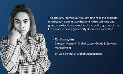 Collegedunia interviews Smita Jain (Director – MGLuxM)
