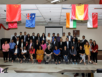 Study Tour to the Land of Opportunities - EMBA Mumbai Cohort Visits Dubai