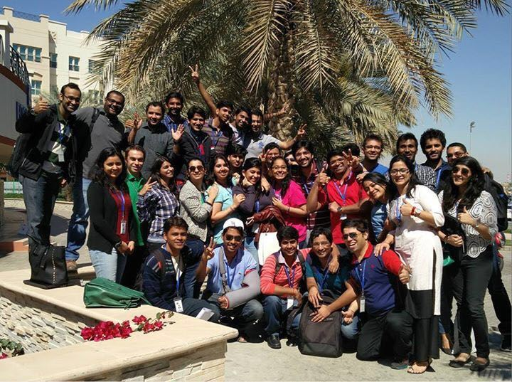 POSTGRADUATE STUDENTS IN DUBAI VISIT FERRARI WORLD