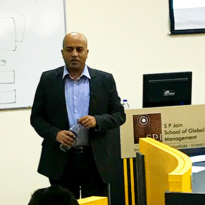 Marketing Innovation and Knowing Your Customer - Guest Session with Sathyan Vaidyanathan, Dubai