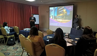 MGB Students visit Crown Plaza, IHG Group Dubai
