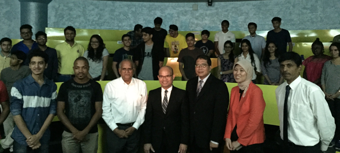 CONSUL GENERAL OF INDONESIA VISITS MUMBAI CAMPUS