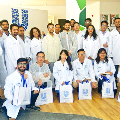Manufacturing Is the Key to a Sustainable Future – Postgraduate Students Visit Unilever Dubai