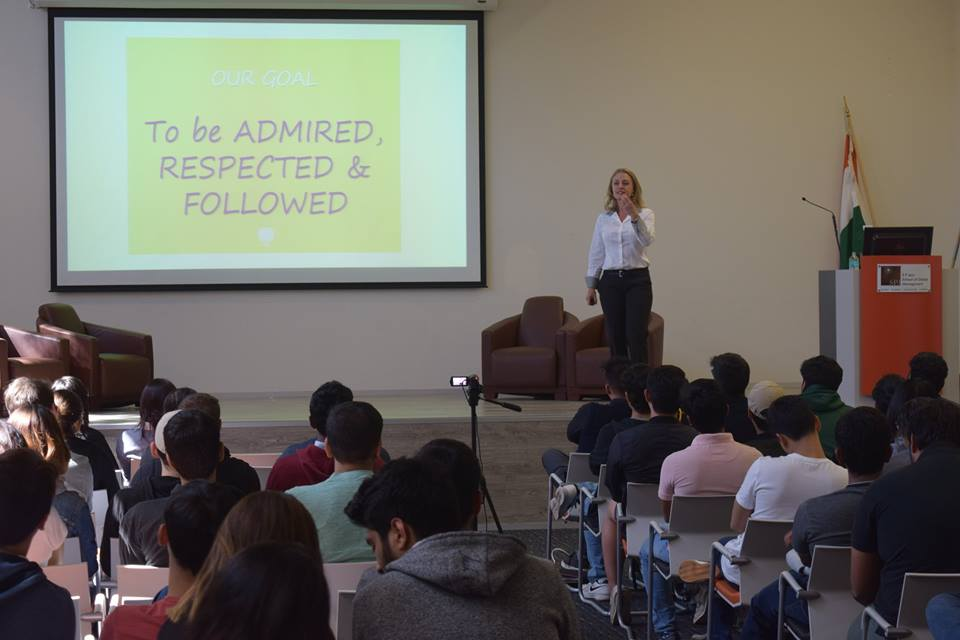 An Interactive Session with Rachel Bourke at SP Jain, Sydney