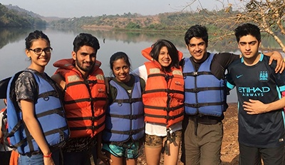 BBA Jaguars visit Kundalika River near Mumbai