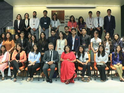 Orientation Day for the Opening batch of Luxury Management in Mumbai