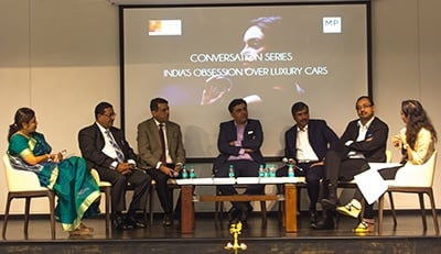 Luxury Management Students at SP Jain's Mumbai Campus Launch the Conversation Series