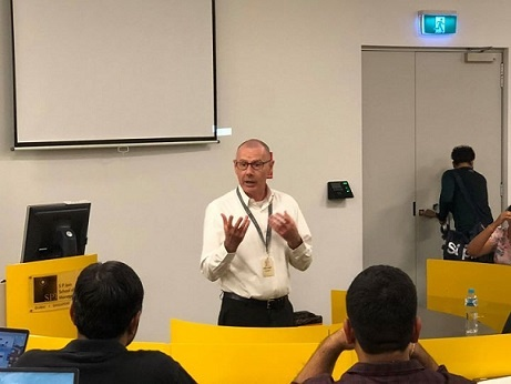 Understanding Supply Chain at Woolworths – Michael Livingstone Speaks at the Sydney Campus
