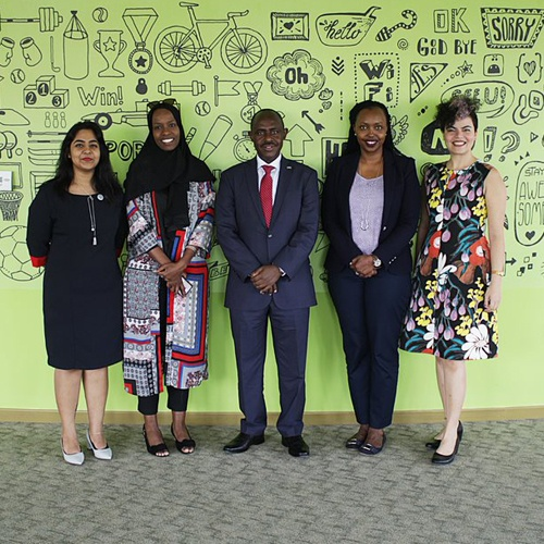 Hon. Dr. Eugene Mutimura - Rwanda's Minister of Education Visits SP Jain Dubai