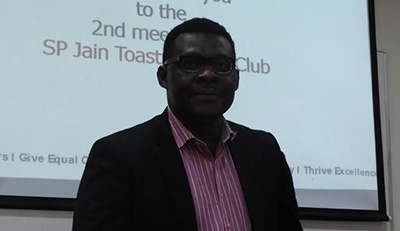 SPJ Toastmasters Club being established for the EMBAs
