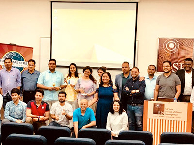 The Value of Commitment - SP Jain Toastmasters Club Dubai Meets