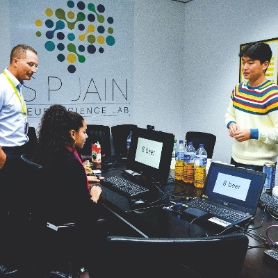 S P Jain's First Neuro-Science Lab