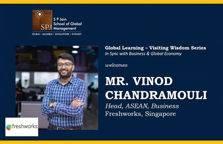 Business and Global Economy – Visiting Wisdom with Vinod Chandramouli