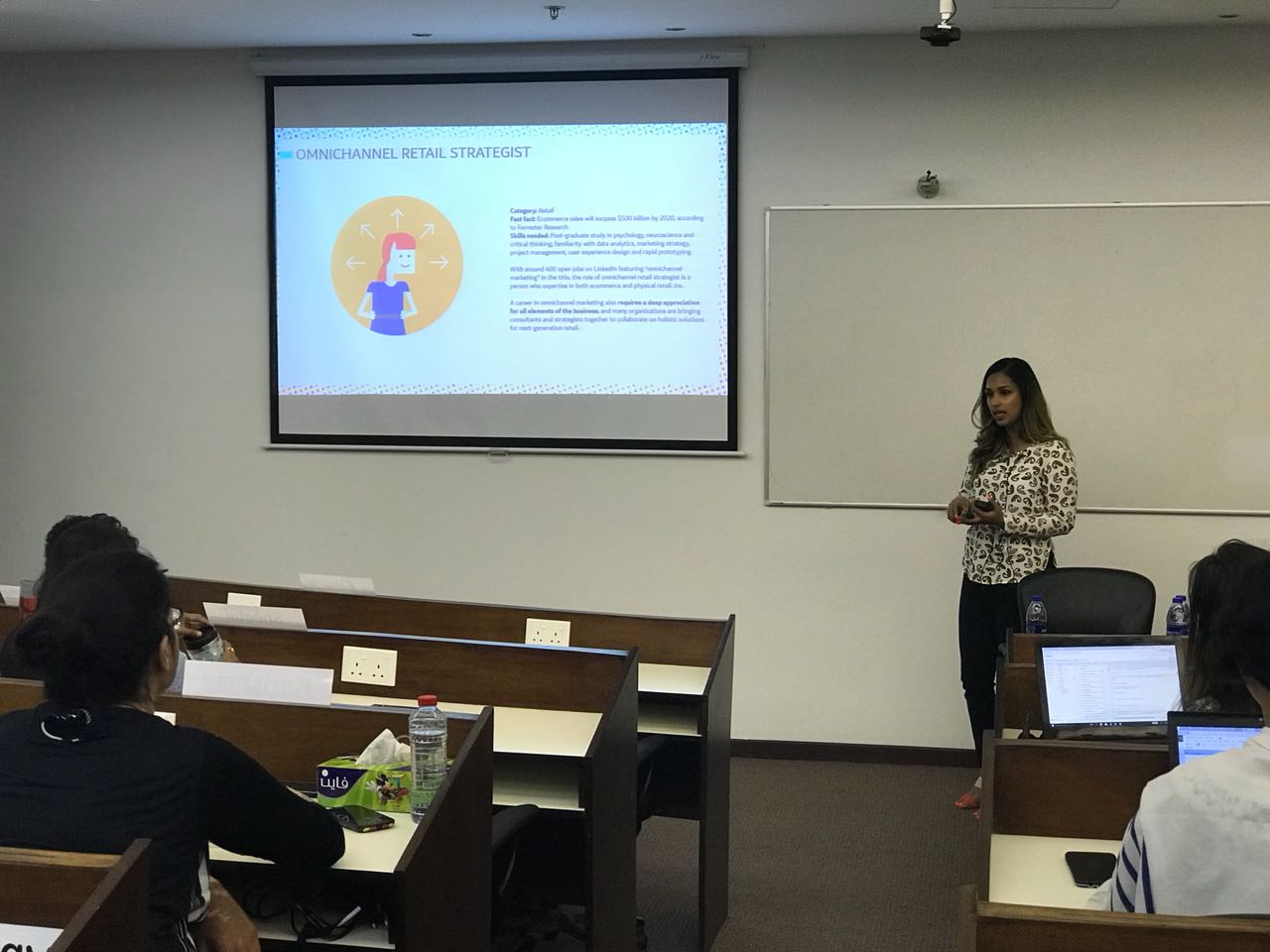 Understanding Digital Marketing with Sanjana Soman at the Dubai Campus
