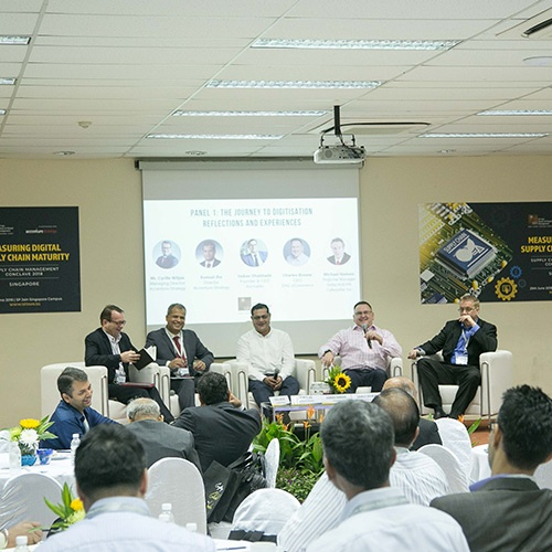 Measuring Digital Supply Chain Maturity – Annual Supply Chain Conclave at Singapore