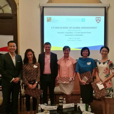 Innovation in Education: SP Jain partners with Harvard University and Columbia University for Alumni Event