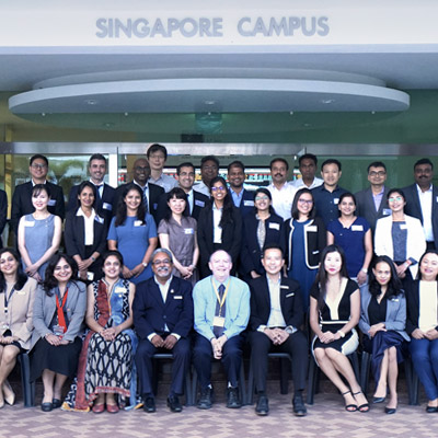 S P Jain Singapore Campus Welcomes the EMBA Cohort of September 2018