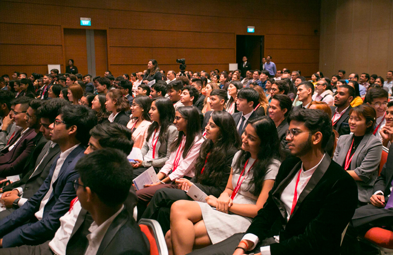 BBA September 2019 cohort begins their global journey in Singapore