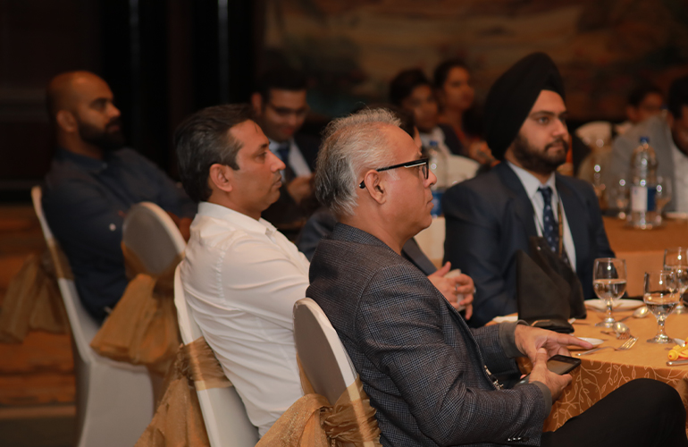 Experts from various industries including marketing, logistics, finance and technology attended the event