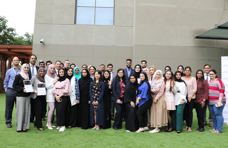 Participants and representatives from Innovation Think Tank, Siemens Healthineers at the Innovation Management & Leadership Certification Program