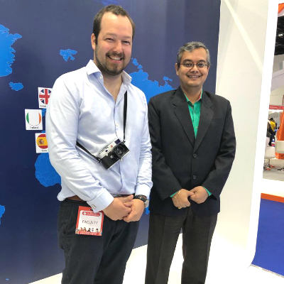 SP Jain welcomes Marc Stickler, biologist and wildlife photographer, at GETEX 2019