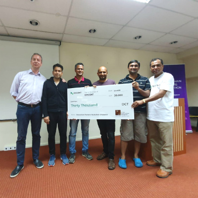 Executive MBA alumni bag 2nd place in Blockchain Pioneers Hackathon Series