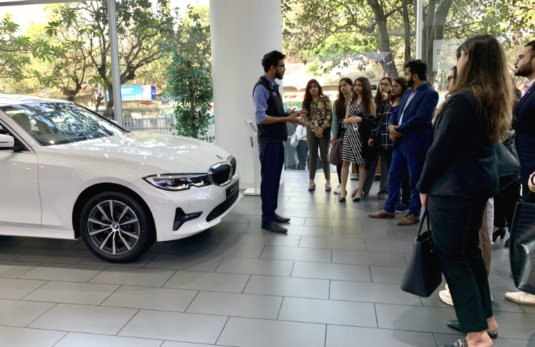 Industrial visit to BMW Bavaria Motors – Luxury Management students gain market insights