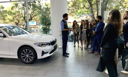 Industrial visit to BMW Bavaria Motors – Gaining market insights