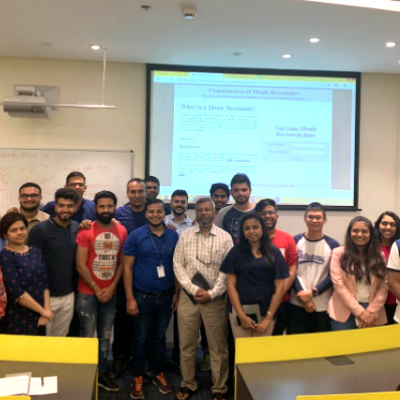 Visiting Wisdom: Dr. Ashish Das holds a guest lecture for Bachelor of Data Science students