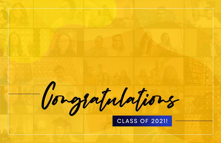 Watch the Virtual Graduation Ceremony of SP Jain's Class of 2021