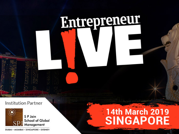 Grow Your Business: SP Jain partners with Entrepreneur to bring you E-LIVE and E360 in Singapore