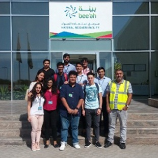 Sustainability, a driving force for innovation – BBA Jaguars visit Bee'ah