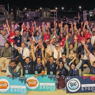 BBA Jaguars Ace the Entrepreneurial Pitch at Seaside Startup Summit, Ras Al-Khaimah