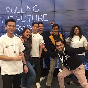 SP Jain Dubai saw Jaguars ace at Entrepreneurship - Tech Startup Weekend 2018!
