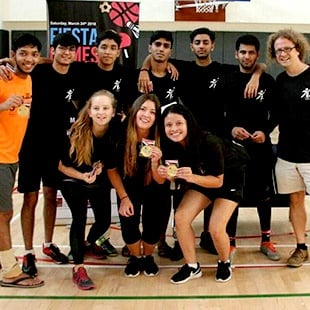BBA Jaguars and Alumni Participate in the FIESTA GAMES 2018 at Yale-NUS Campus, Singapore
