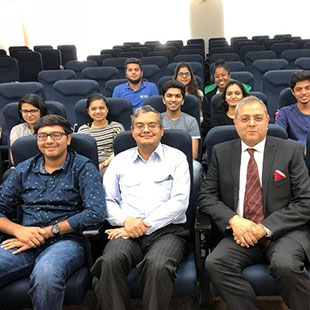 Guest Session with Mr. Paresh Kotecha on Commodity Markets and Opportunities at Dubai