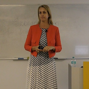 Siobhan Hayden, Chief Operating Officer – HashChing, Visits the Sydney Campus
