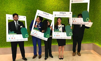 Jaguars ace Emirates Environmental Inter-University Public Speaking Competition
