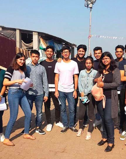 The People of Mumbai Tour – BBA Jaguars undertake a cultural tour in Mumbai