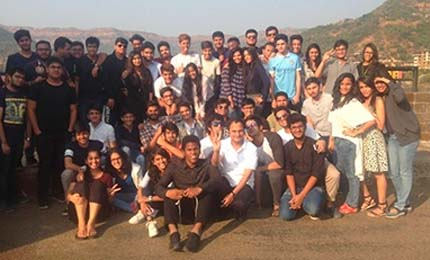 Jaguars visit Lavasa for an Industrial Visit