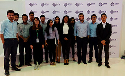 BEC students visit Dubai Financial Market