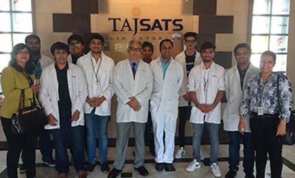 Jaguars learn about TQM practices @TajSATS in Mumbai
